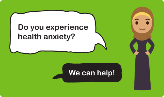 Health anxiety banner