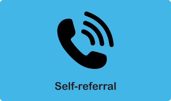 Self Referral Banner - Healthy Minds