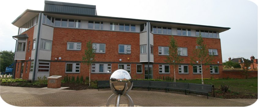 Pershore Community Hospital building