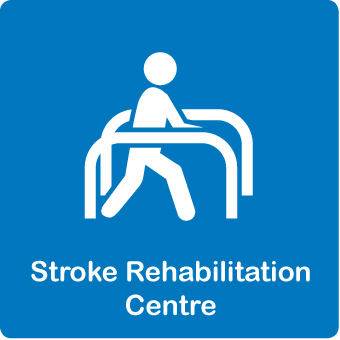 Stroke rehab centre button