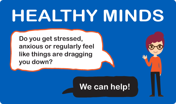 Healthy Minds banner