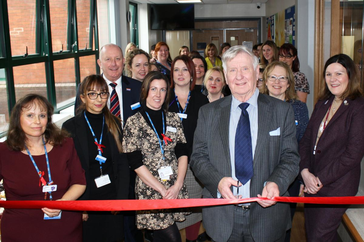 Official opening sexual health clinic in Aconbury North, Worcester