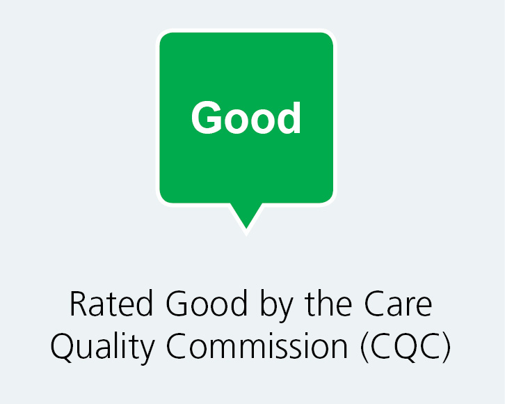 We are CQC rated Good