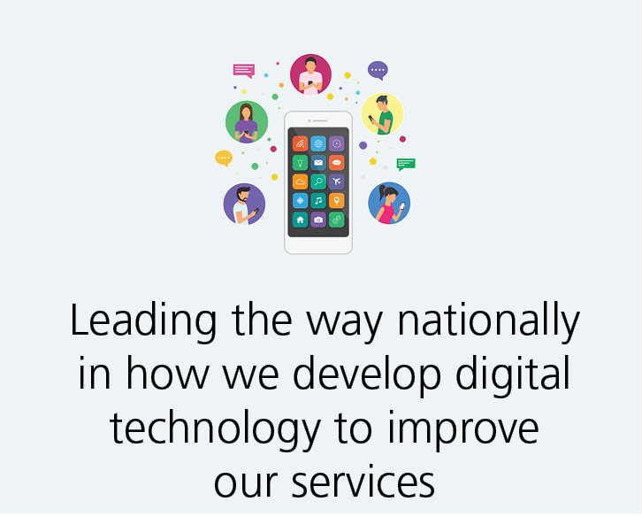 We are innovators in digital development