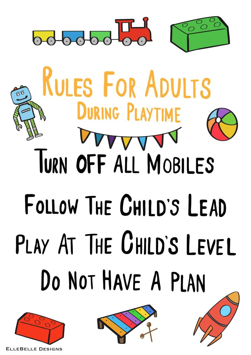 Rules of Play for grown ups