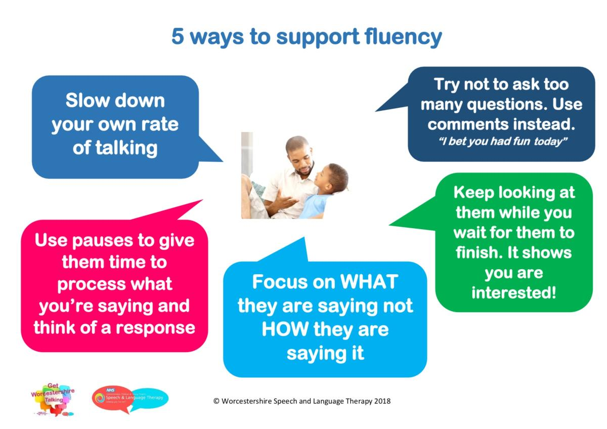 5 ways to support fluency