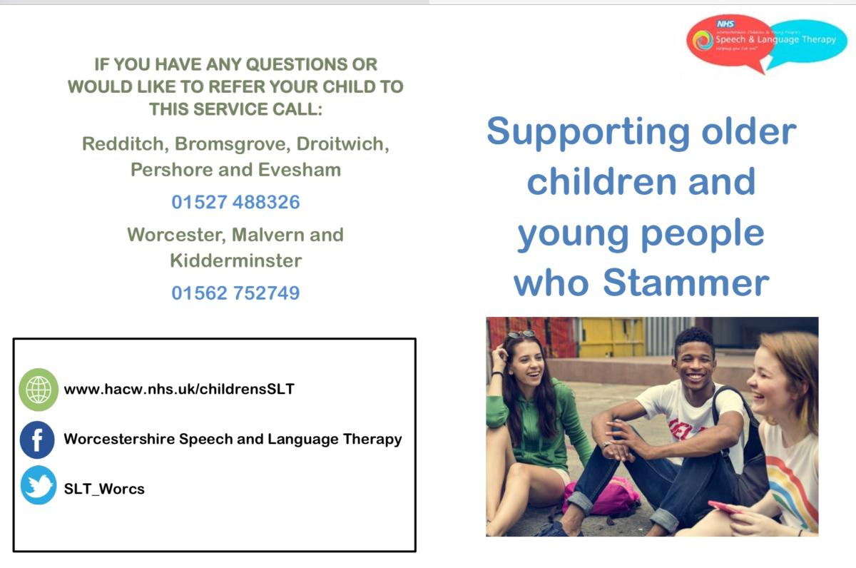 Stammering leaflet - young people