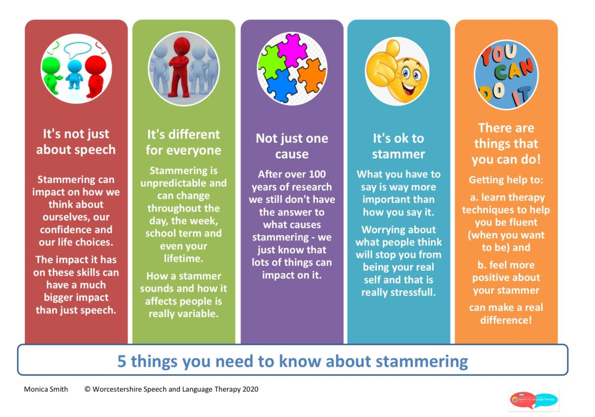 5 things you need to know about stammering
