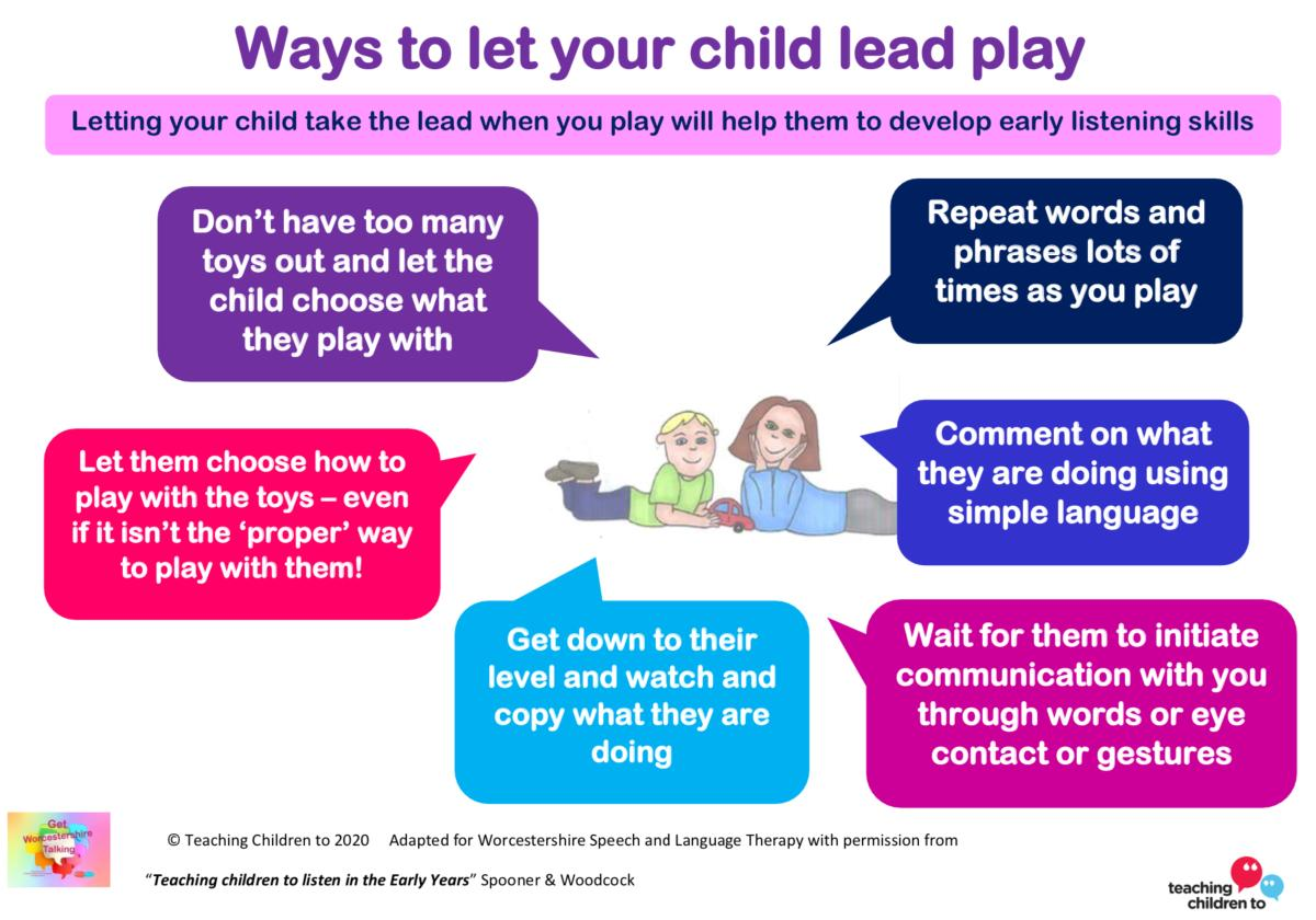 Ways to let your child lead