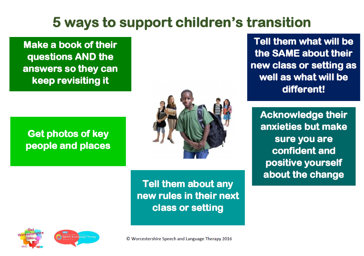 5 ways to support transition