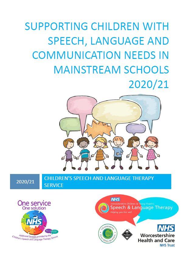 Supporting children with SLCN