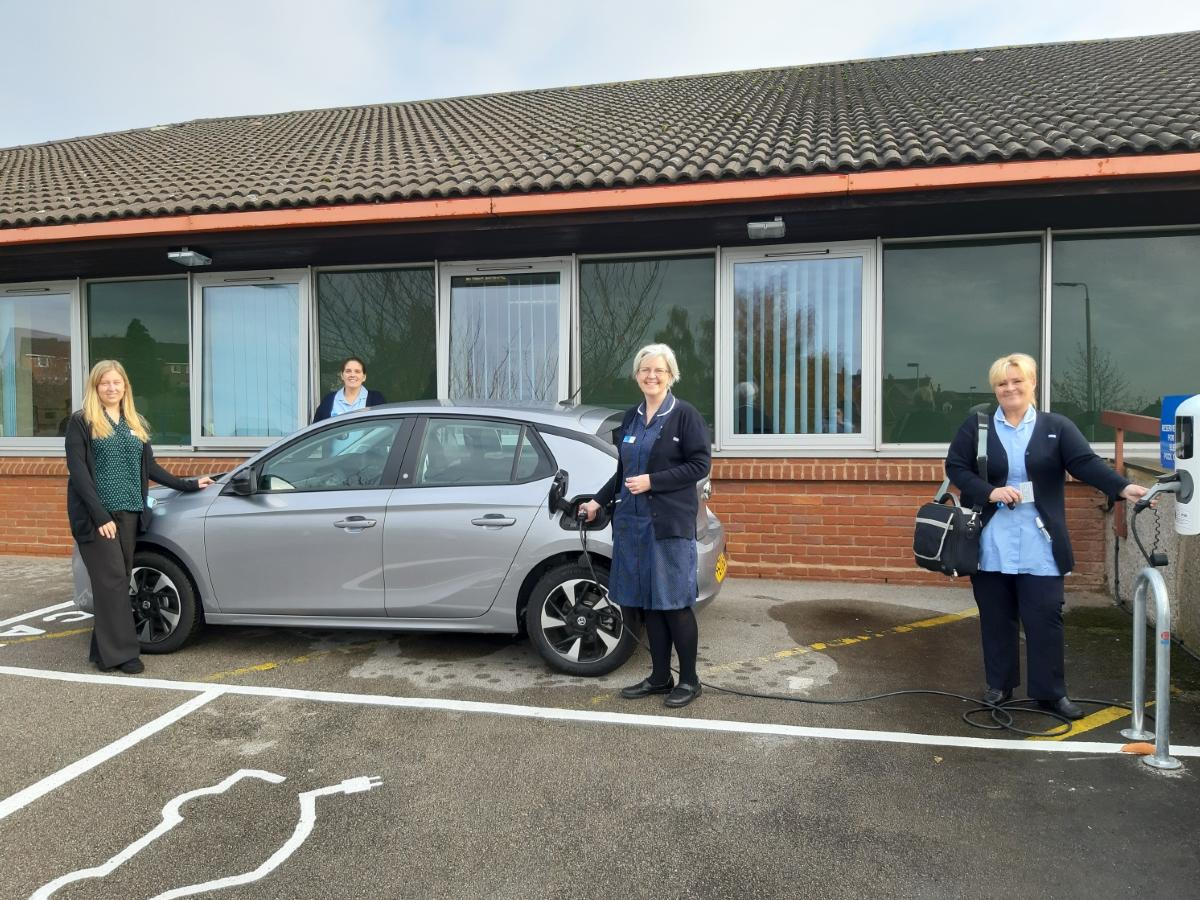 Worcestershire Electric Car